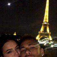 Bruna Marquezine e Neymar estão no maior love em Paris e o mundo respira aliviado