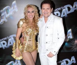 """Quem viveria a cantora Joelma no filme """"Isto é Calypso"""" seria Deborah Secco. Já Bruno Gagliasso interpretaria o músico Chimbinho"""
