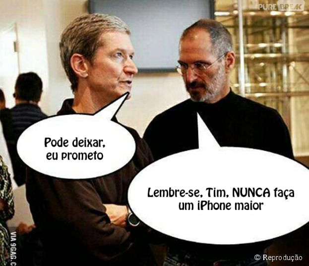 Novos Memes Do Iphone  Apos O Lancamento