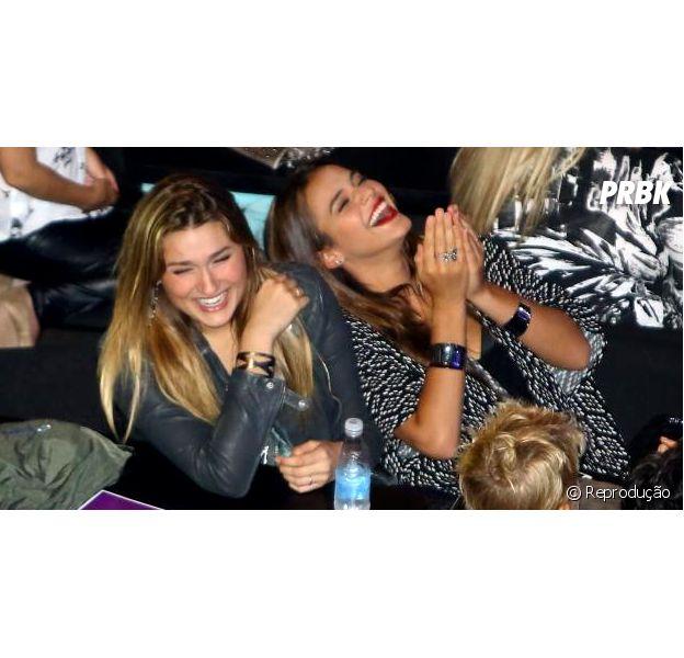 Bruna Marquezine e Sasha Meneghel vão voltar a se encontrar em Nova York