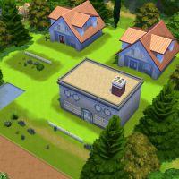 """Fã recria cidade do game """"Pokémon"""" em """"The Sims 4"""""""