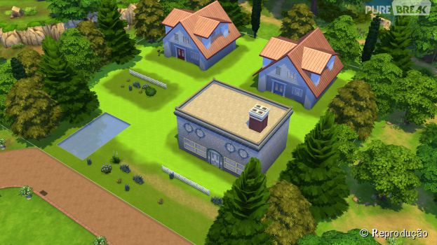 "Cidade de Pallet, do game ""Pokémon Red e Blue"" é recriada em ""The Sims 4"""