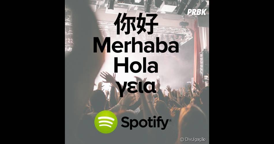Spotify recentemente ficou disponível na Argentina, Taiwan, Grécia e Turquia