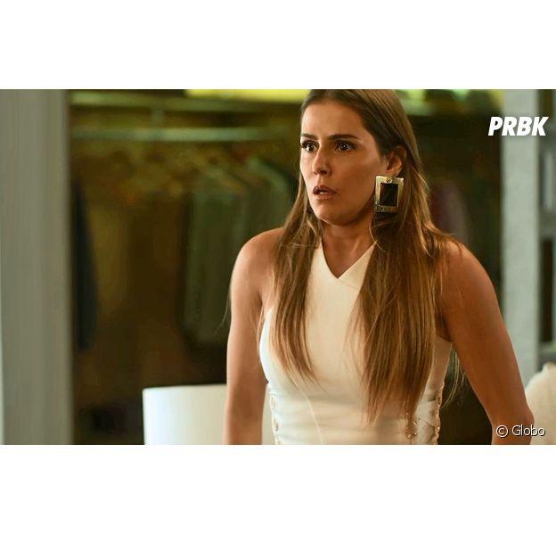 """Em """"Segundo Sol"""", Karola (Deborah Secco) tentará matar Laureta (Adriana Esteves)"""