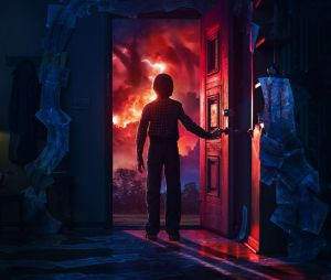 "Veja o elenco de ""Stranger Things"" levando sustos no Halloween Horror Nights"