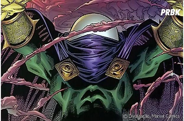 Mysterio é o mais novo vilão da franquia de filmes do Homem-Aranha