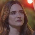 """Em """"O Tempo Não Para"""", Marocas (Juliana Paiva) não quer continuar namoro com Samuca (Nicolas Prattes)"""