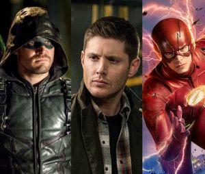 """Jensen Ackles apareceu no set das gravações do crossover de """"The Flash"""" e """"Arrow"""" e a galera já começou a pedir um novo crossover"""