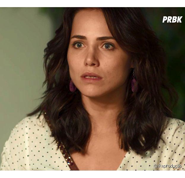 """Final """"Segundo Sol"""": Rosa (Letícia Colin) será ameaçada de morte por Laureta (Adriana Esteves)"""