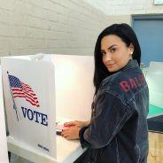 Demi Lovato posta primeira foto no Instagram desde a overdose e incentiva o voto em publicação!
