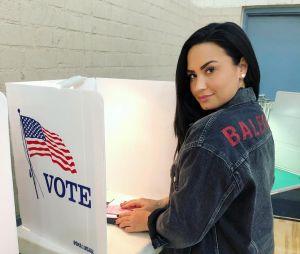 Demi Lovato posta sua primeira foto no Instagram, desde a overdose, e pede para americanos votarem