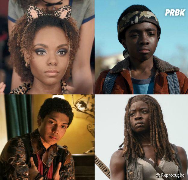 Quantos personagens negros existem nas séries que você acompanha?