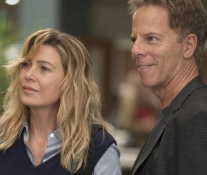 """Em """"Grey's Anatomy"""", Meredith Grey (Ellen Pompeo) e Thomas Koracick (Greg Germann) não viverão romance na 15ª temporada"""
