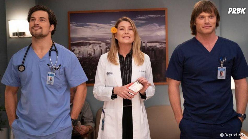 """Saiba mais sobre os dois novos amores de Meredith (Ellen Pompeo) na segunda parte da 15ª temporada de """"Grey's Anatomy"""""""