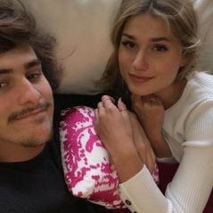 Sasha Meneghel e Bruno Montaleone completaram um ano de namoro e estamos só amor