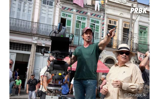 """Sylvester Stallone gravou no Rio de Janeiro o primeiro filme da franquia """"Os Mercenários"""""""