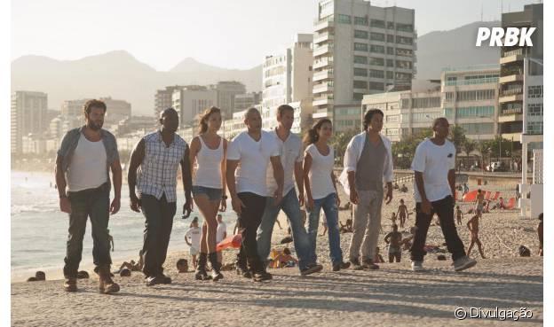 """Vin Diesel e companhia gravaram """"Velozes e Furiosos 5"""" no Rio de Janeiro"""