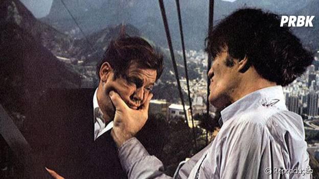 """""""007 Contra o Foguete da Morte"""" traz James Bond lutando no Pão de Açúcar"""