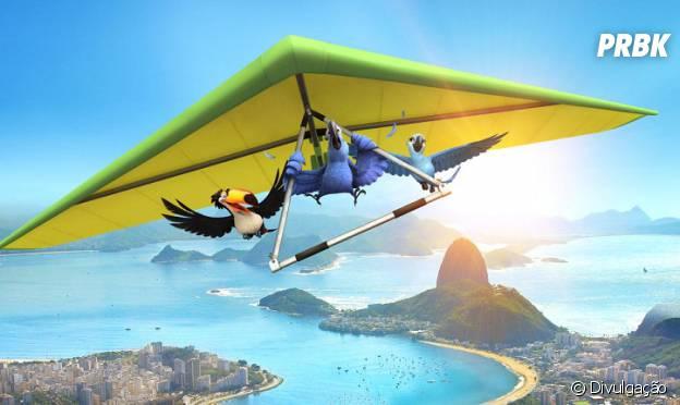 """Animação """"Rio"""" é ambientada na Cidade Maravilhosa"""