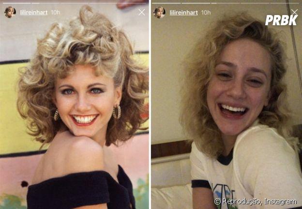 """Lili Reinhart, de """"Riverdale"""", faz brincadeira com relação ao seu cabelo natural"""