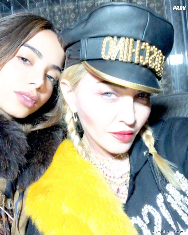 """Música que Anitta gravou com Madonna não deve estar no álbum """"Game Over"""", mas sim num futuro CD da Rainha do Pop"""