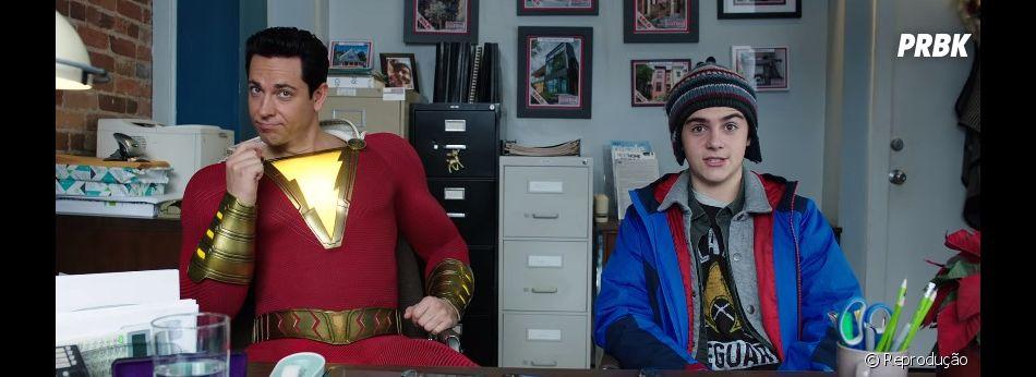 """Mais cenas inéditas são mostradas no teaser de """"Shazam!"""""""
