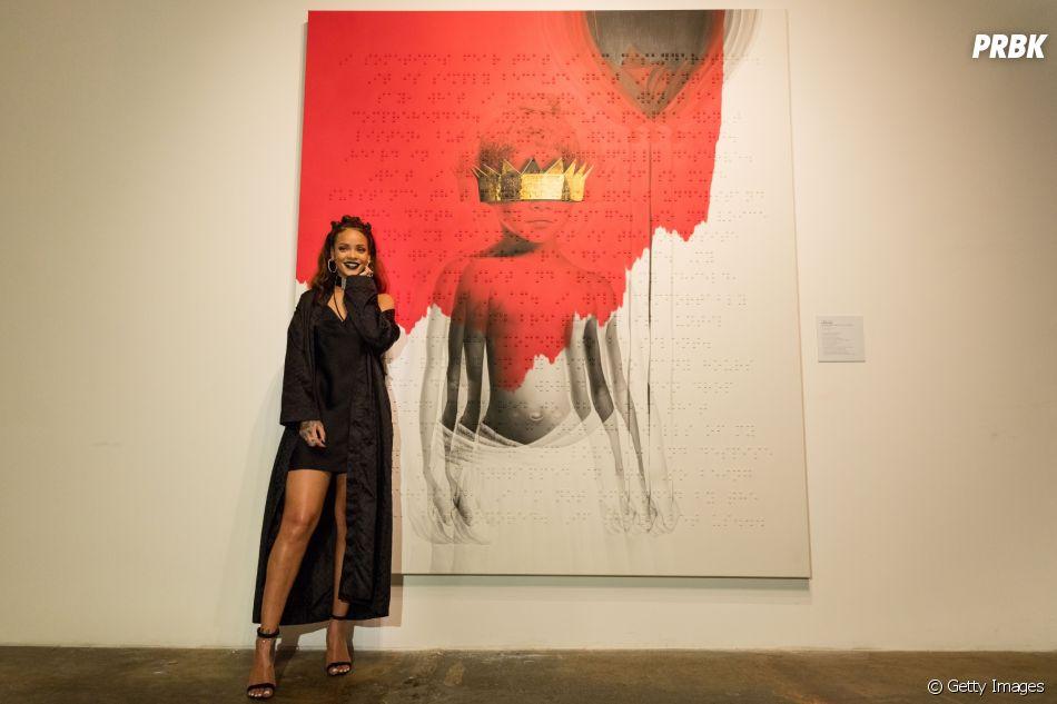 """""""Anti"""" é o oitavo álbum de estúdio da Rihanna"""