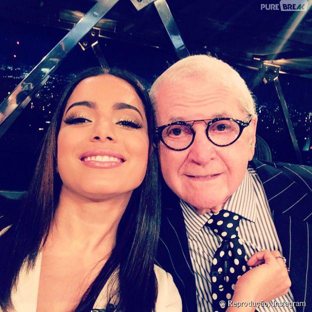 """Anitta é a convidada desta quinta-feira (16) no """"Programa do Jô"""""""