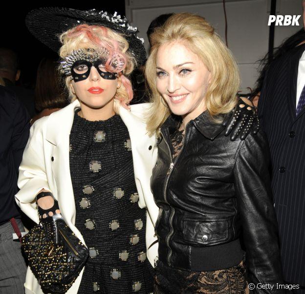 Lady Gaga e Madonna tiram foto juntas em festa pós-Oscar