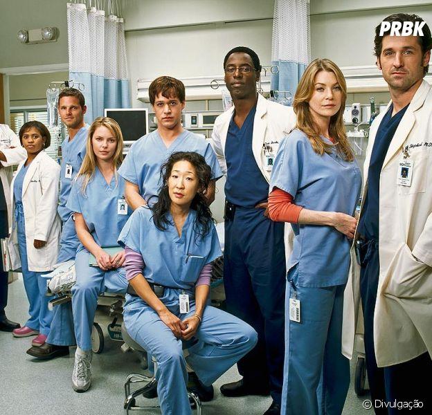 """""""Grey's Anatomy"""" bate o recorde de série médica mais longa dos Estados Unidos"""
