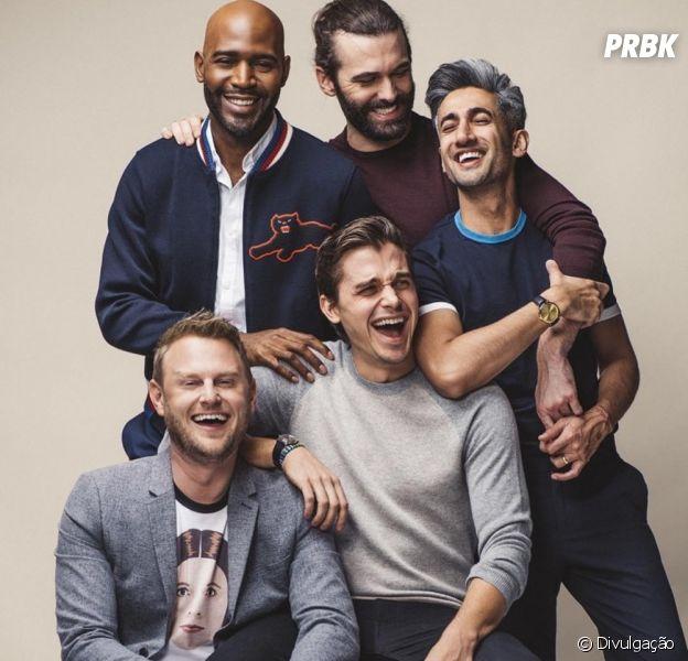 """3ª temporada de """"Queer Eye"""" chega ao catálogo da Netflix nesta sexta-feira (15)"""
