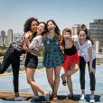"""Daphne Bozaski,Giovanna Grigio, Ana Hikari, Manoela Aliperti, Gabriela Medvedovski e Isabella Scherer, de """"Malhação - Viva a Diferença"""", se reunem e fazem alegria dos fãs"""