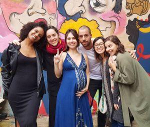"""Parte das Five, de """"Malhação: Viva a Diferença"""", se reúne na casa de Ana Hikari"""