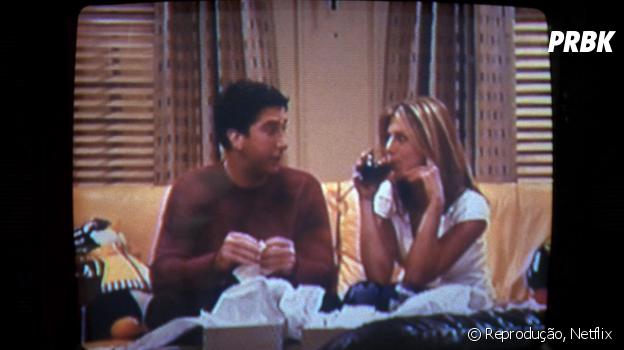 """""""Friends"""": Ross já gravou um vídeo íntimo com Rachel"""