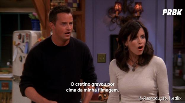 """""""Friends"""": Monica já gravou uma sextape com Richard"""