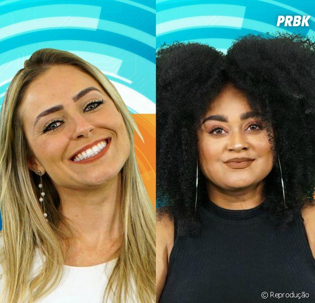 """""""BBB19"""": Rízia ou Paula, quem deve sair no próximo paredão?"""