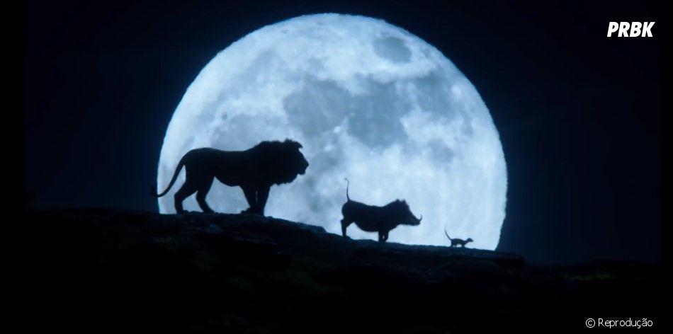 """Filme """"O Rei Leão"""": Simba aparece ao lado de Timão e Pumba em novo trailer"""