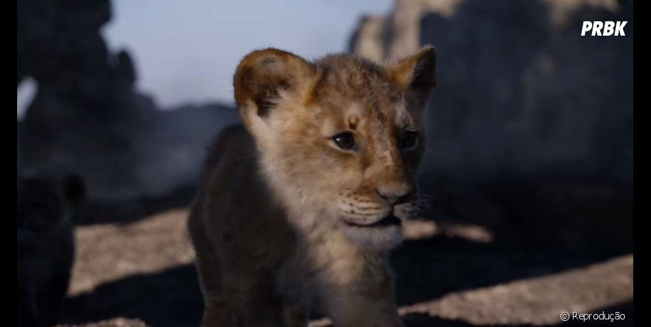 """Filme """"O Rei Leão"""": Simba aparece crescendo ao lado de Timão e Pumba em trailer"""