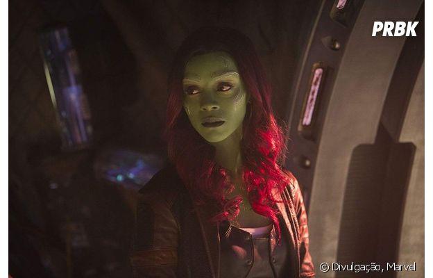 """Gamora é uma das personagens que voltam à vida em """"Vingadores: Ultimato"""""""