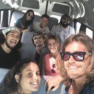 Grupo da Gaiola faz viagem para Arraial do Cabo e estamos empolgados com essa animação na van