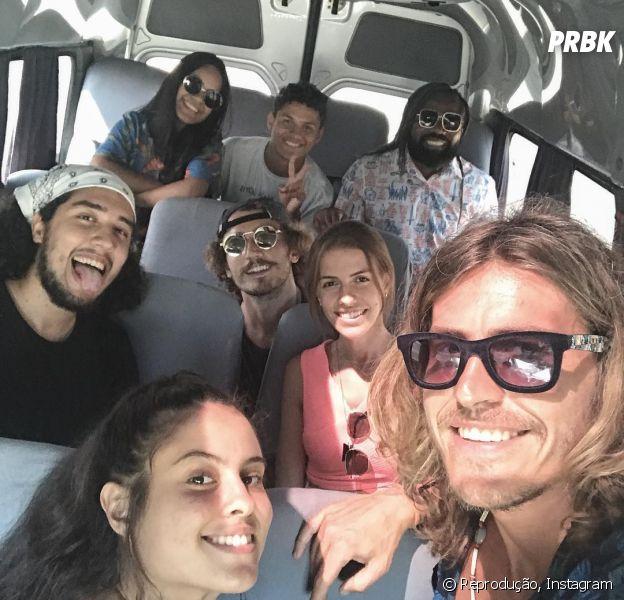 """Ex-""""BBB19"""", parte do Grupo da Gaiola viaja para Arraial do Cabo e estamos animados com esses vídeos"""