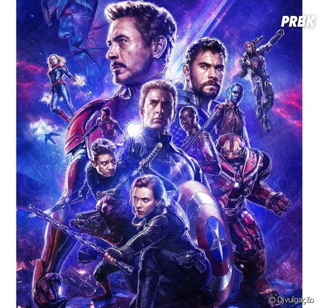 """""""Vingadores: Ultimato"""" atinge marca de 1,2 bilhão de dólares em bilheteria mundial no final de semana de estreia"""