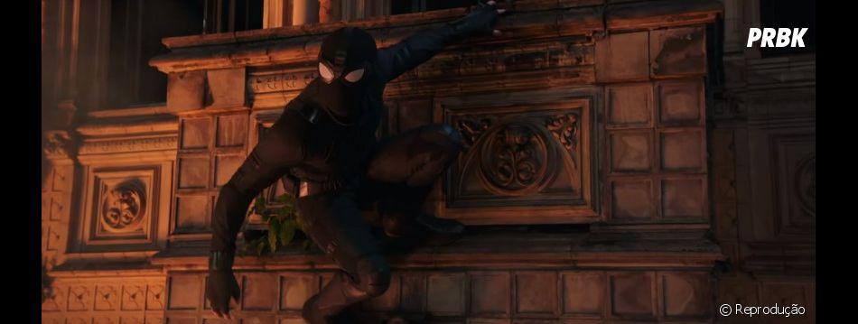 """Trailer de """"Homem-Aranha: Longe de Casa"""": Peter Parker (Tom Holland) pode ser o novo Homem de Ferro"""