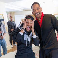 """O Neymar representou todos nós quando conheceu o Will Smith: """"Isso que é surpresa!"""""""