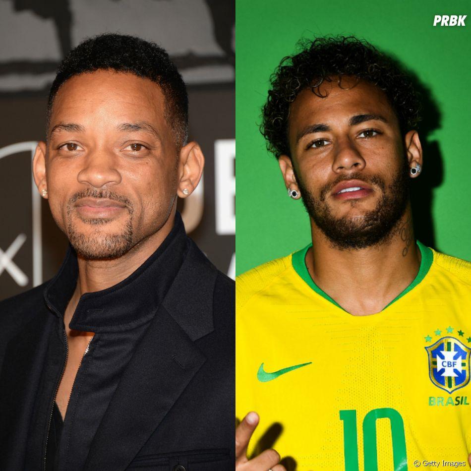 Esse encontro entre Neymar e Will smith é a coisa mais legal que você vai ver hoje!