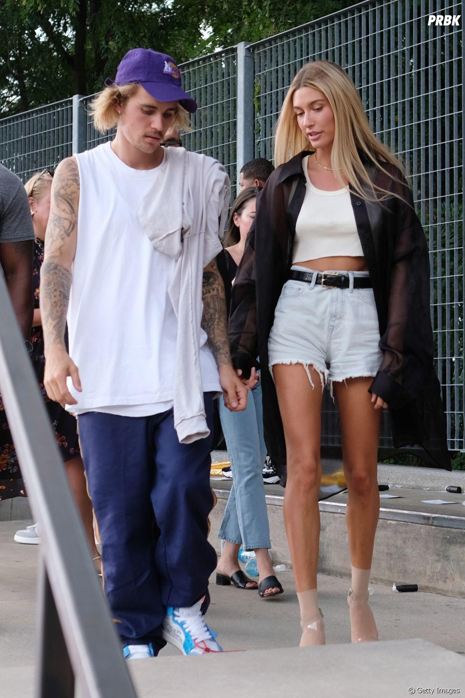 Já não é de hoje que rolam boatos sobre uma possível gravidez de Justin e Hailey Bieber