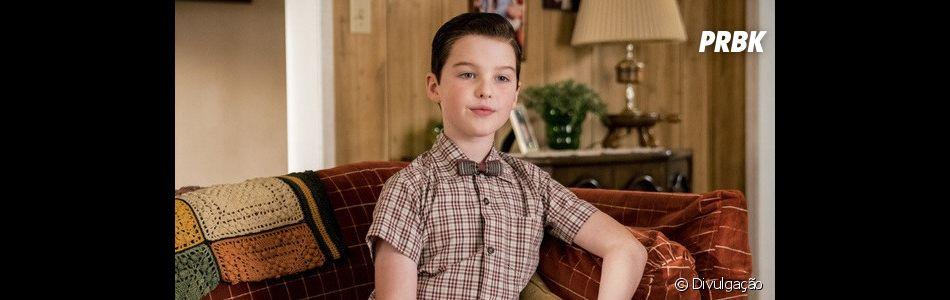 """Recentemente, o pequeno de """"Young Sheldon"""" fez uma participação em """"The Big Bang Theory"""""""