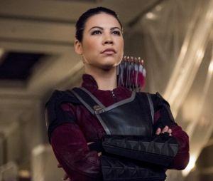 """Em """"Arrow"""", Oliver (Stephen Amell) travará mais uma batalha com Emiko(Sea Shimooka)"""