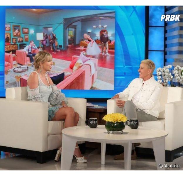 Taylor Swifté entrevistada no programa da Ellen DeGeneres depois de dois anos longe da TV