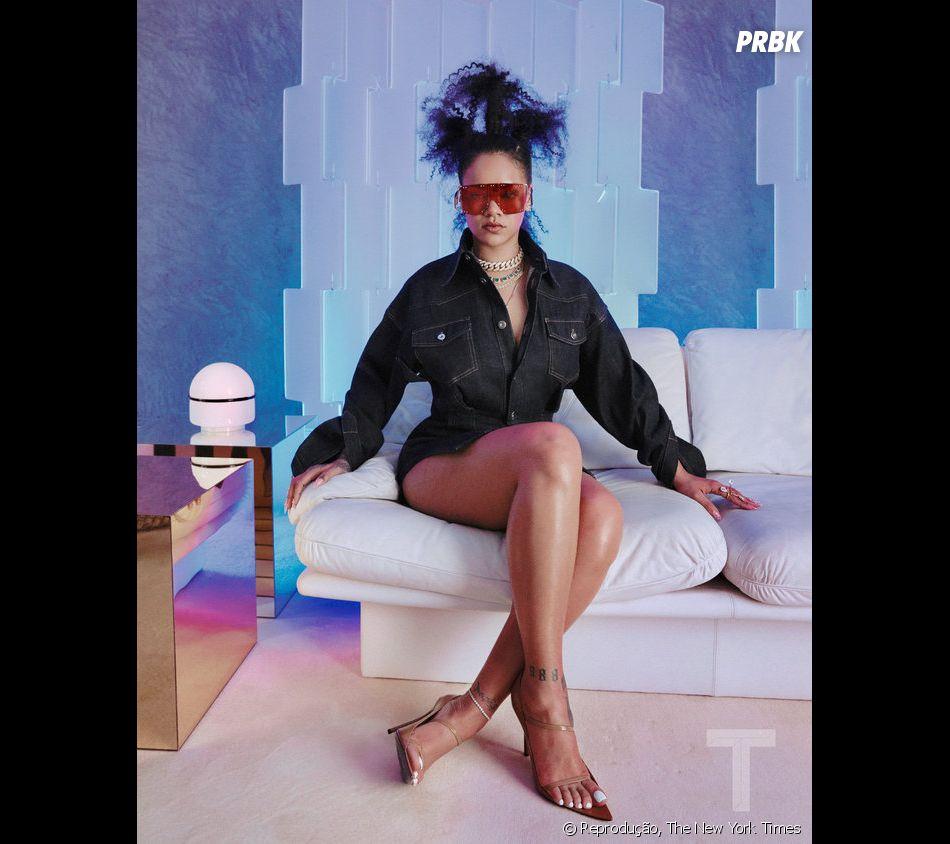 """Além de seu novo álbum, Rihanna também vai lançar sua grife de luxo, """"Fenty"""", este ano"""